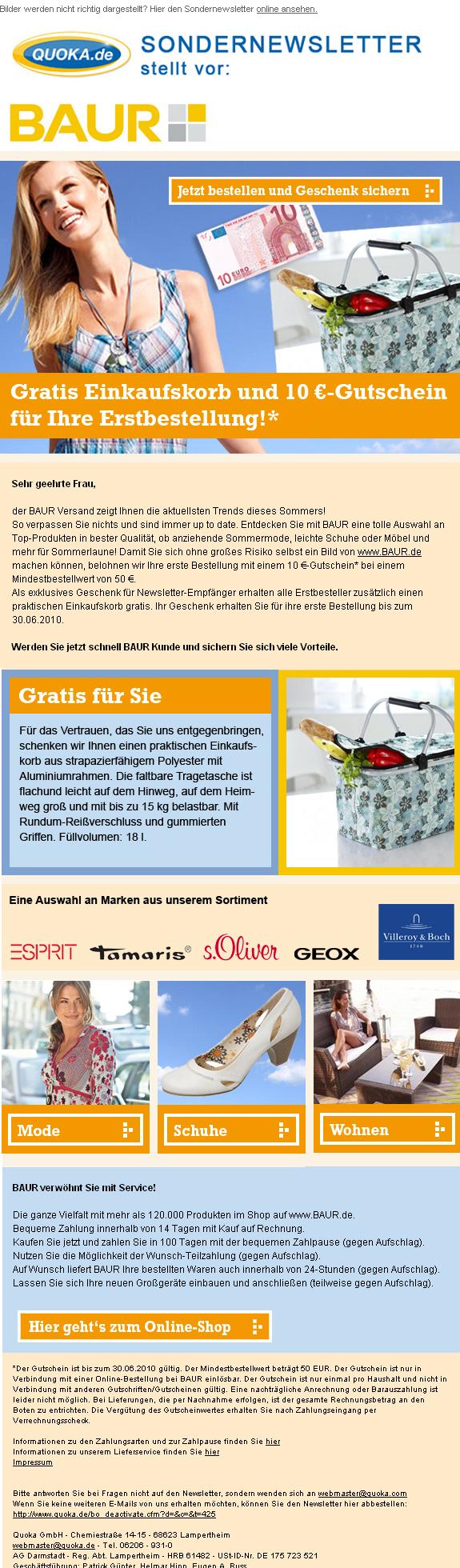 postina.net - Newsletter und E-Mail-Marketing: quoka.de flexibles ...