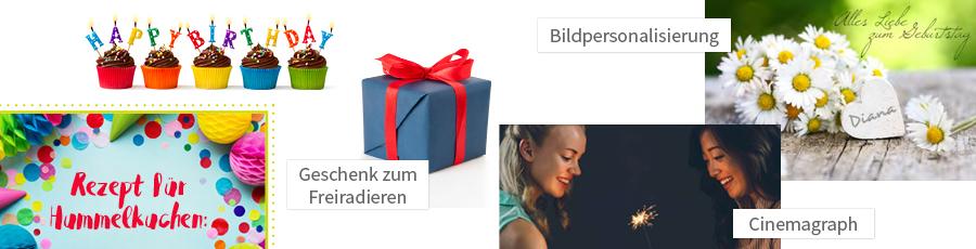 Ideen für Geburtstagskampagnen